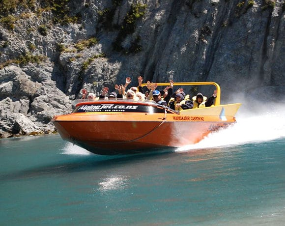 Alpine Jet Boat/Air Boat Experience
